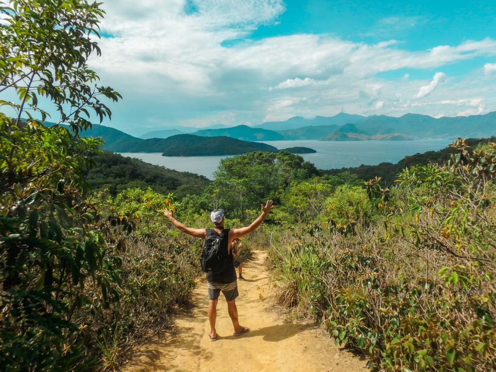 Hiking on Ilha Grande