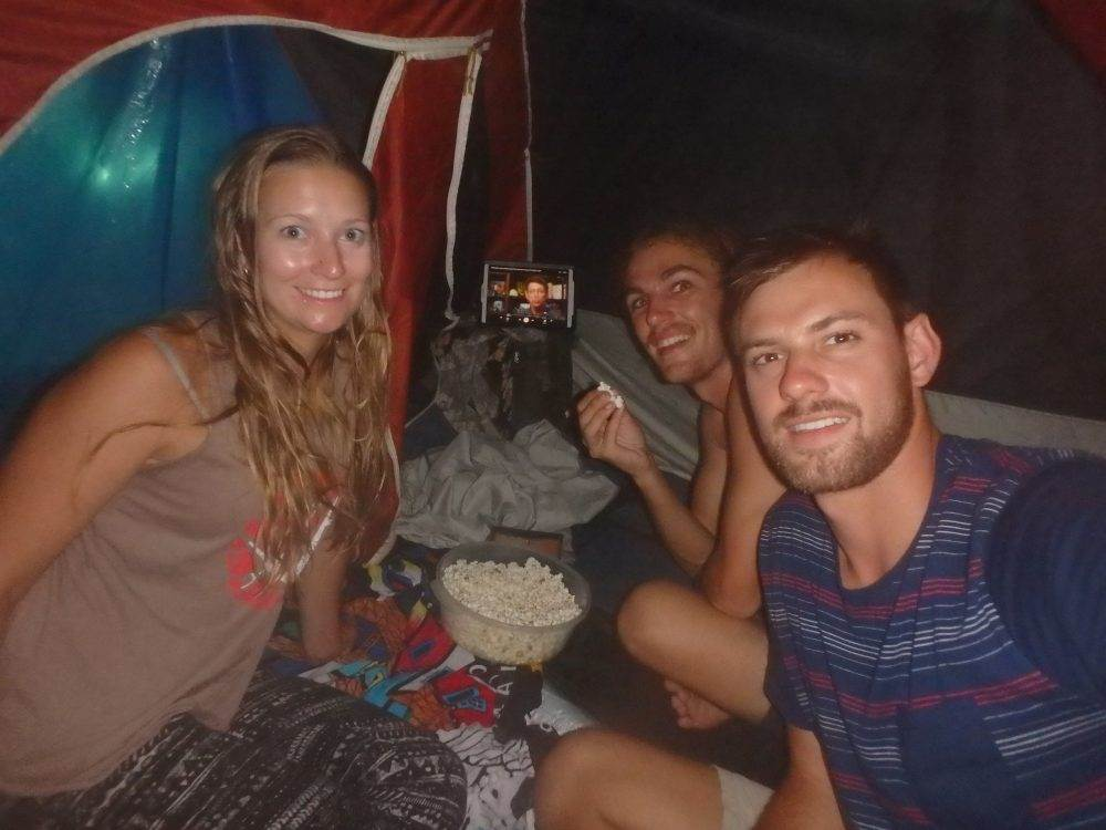 camping in ilha grande