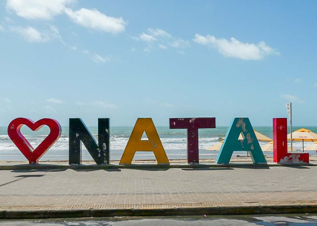 The I love Natal sign in Natal