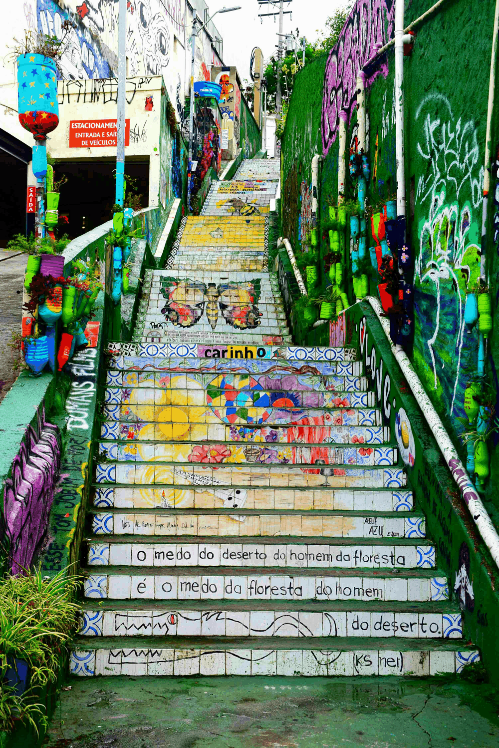 staircase in vila madalena