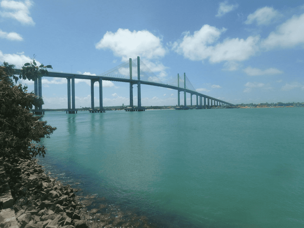 the bridge in natal is huge
