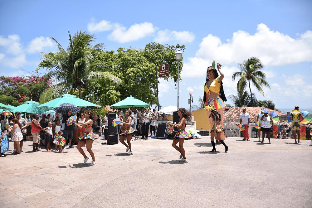 Dancers in Olinda