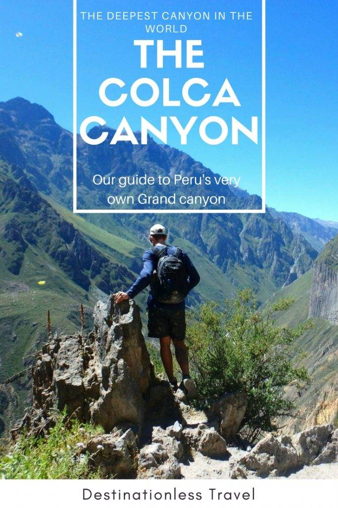 colca conyon tour pin
