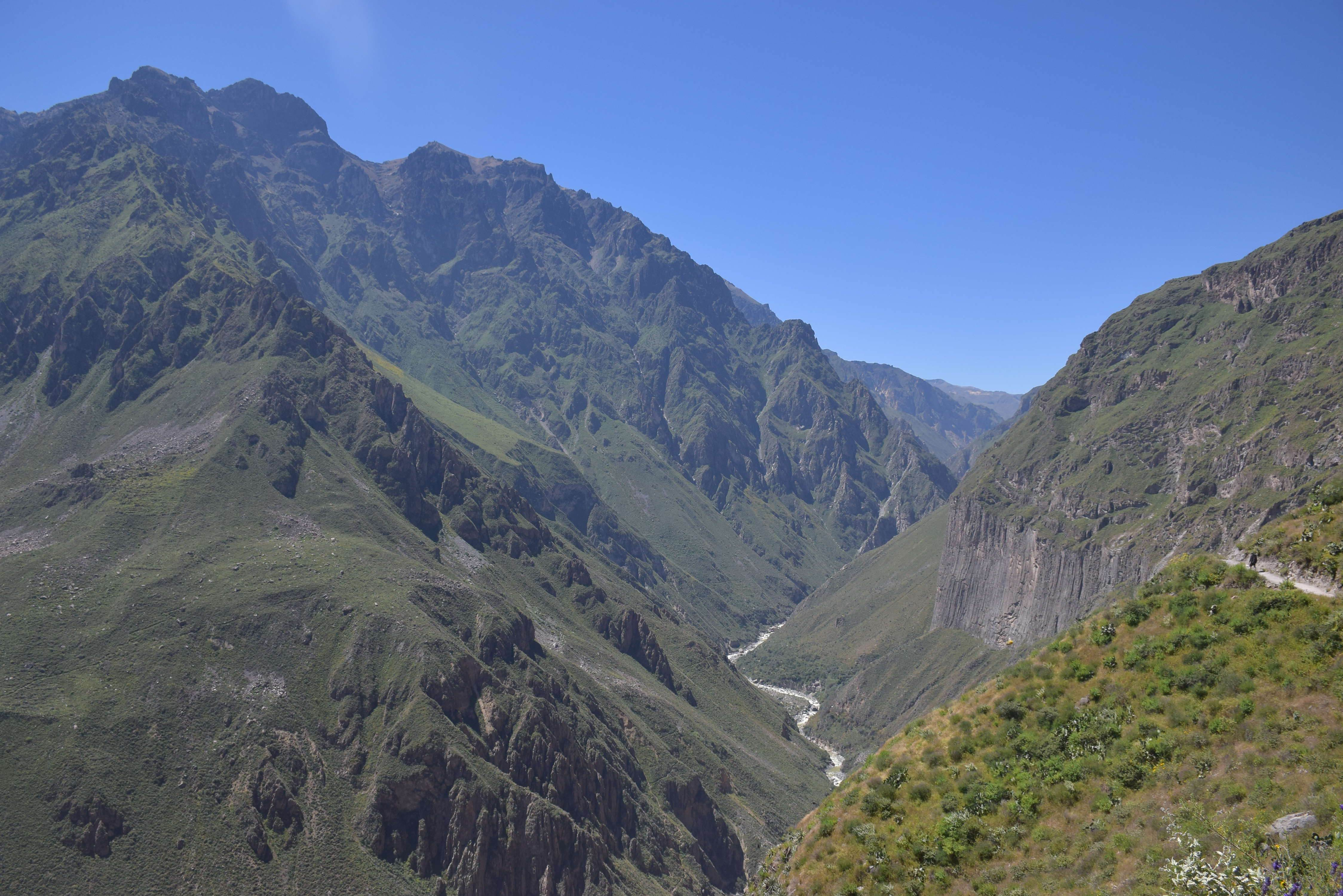 the beginning of our colca canyon tour