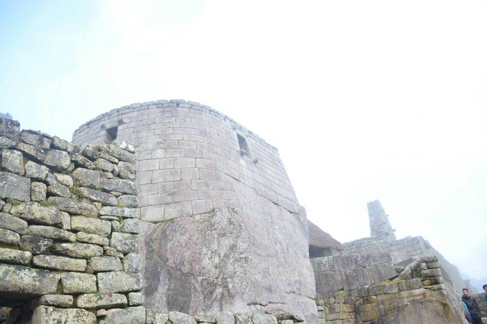 original stonework at Machu Picchu