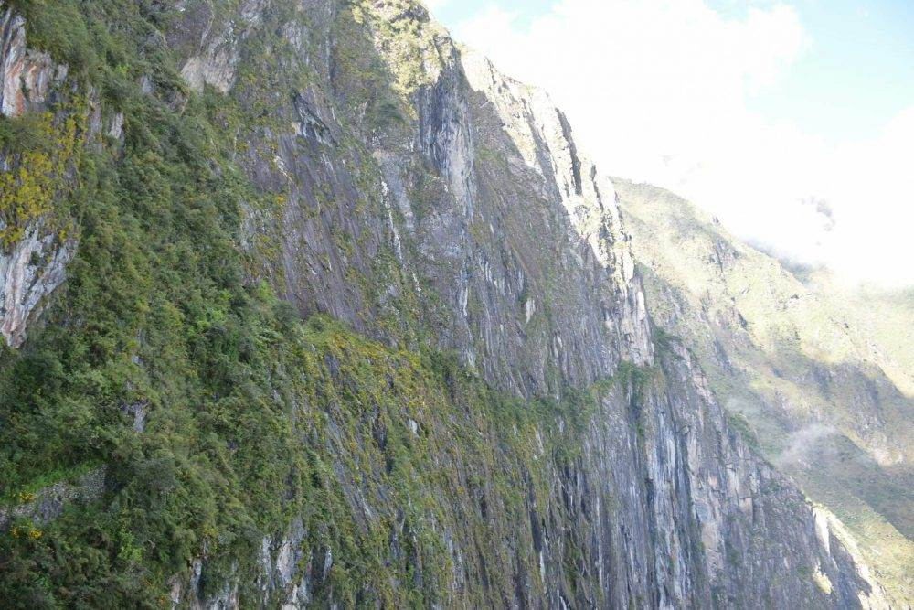 view of the inca trail, is machu picchu worth it? yes! it is incredible!