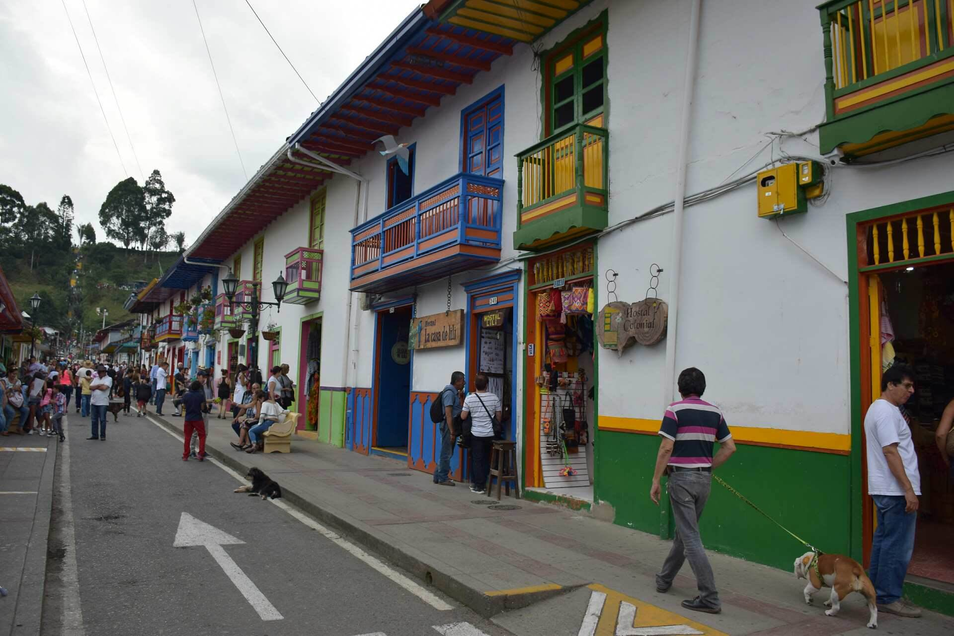 Salento in Southern Colombia