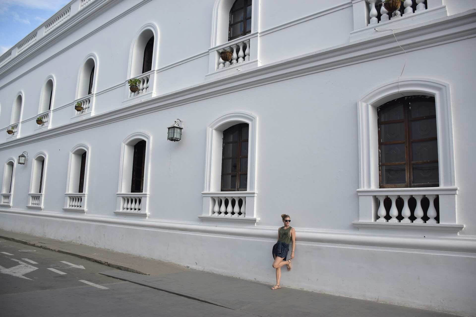 Popayan in Southern Colombia, amazing colonial buildings