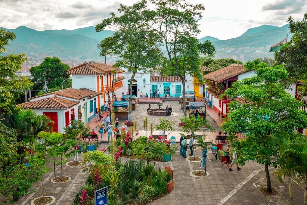 Pueblito Paisa in Medellin