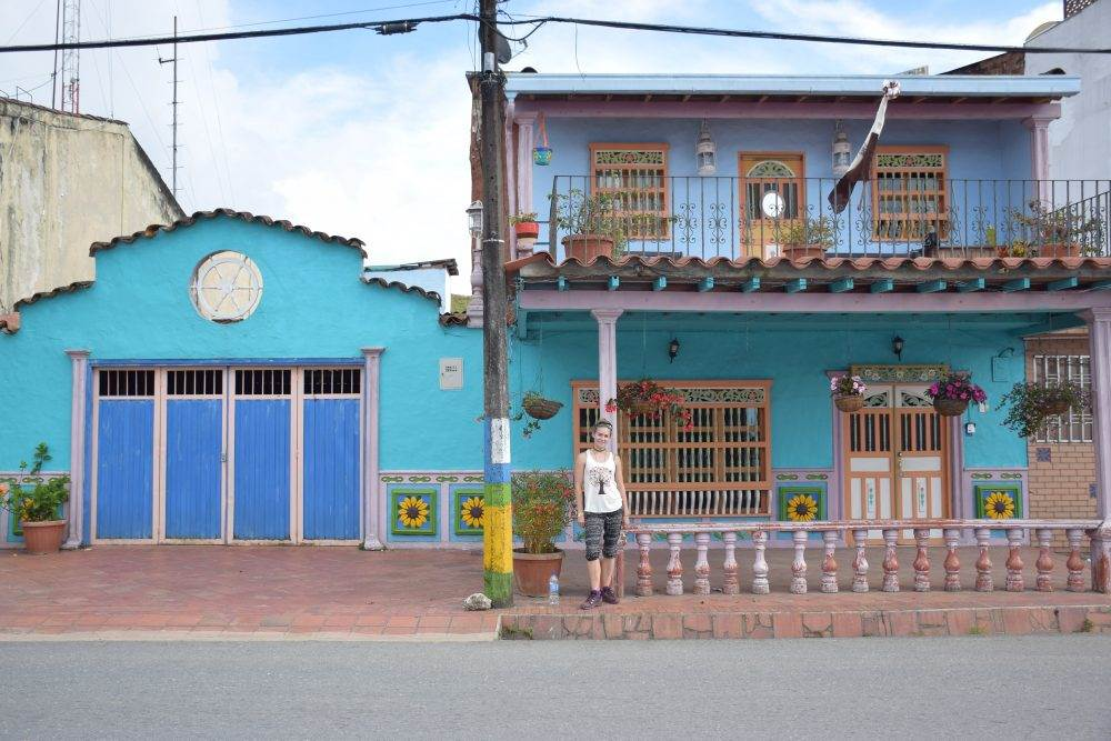 guatape, colombia is such a colorful town