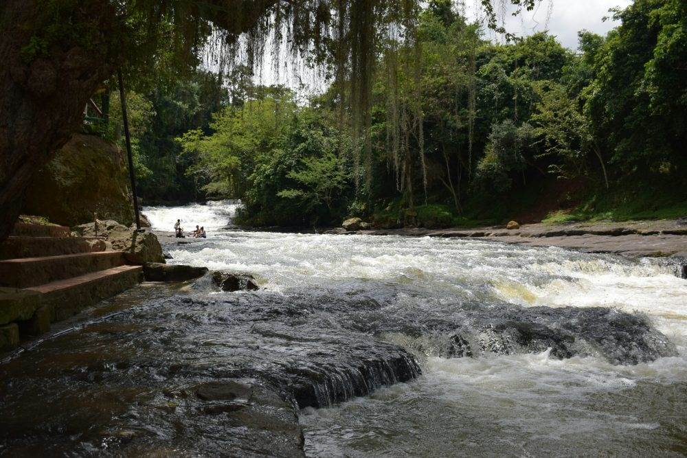 Pozo Azul is only 2km from San Gil, Colombia