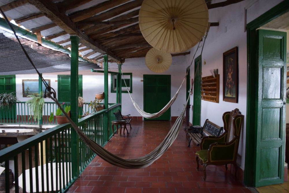 the la mansion hostel in the center of san gil, colombia