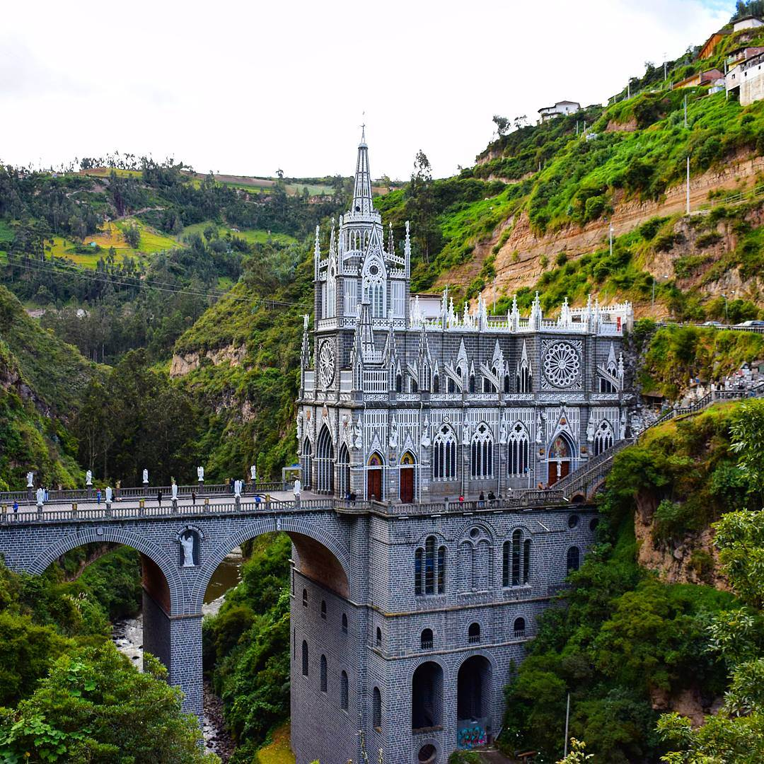 Southern Colombia's hidden gem of Las Lajas