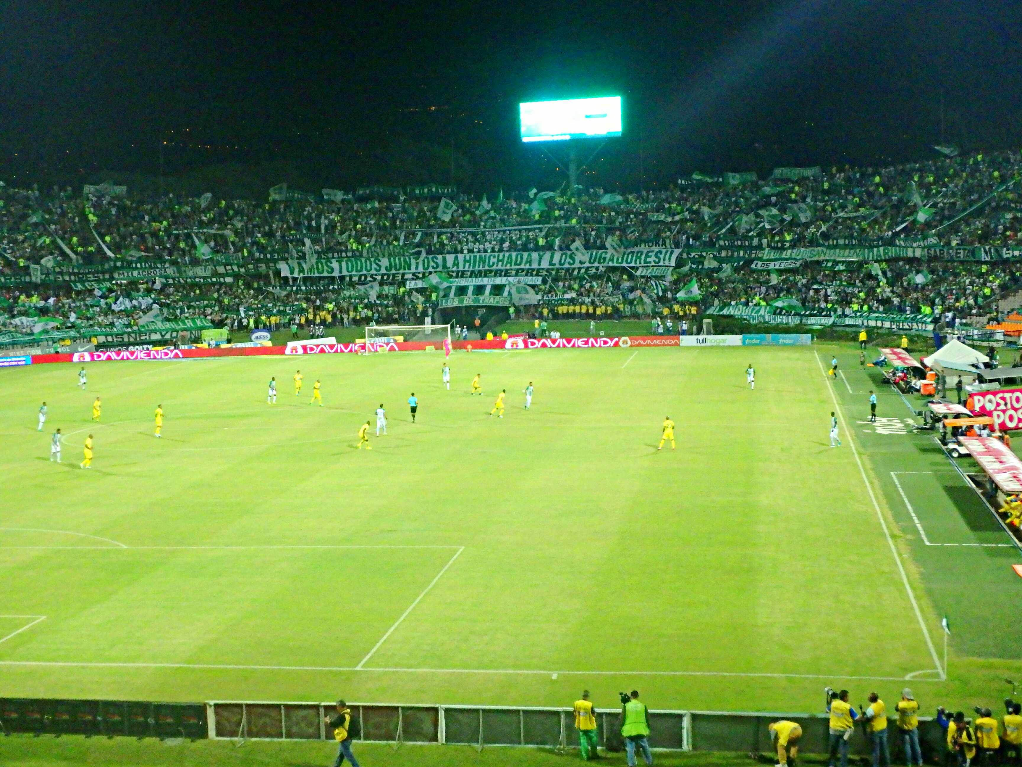 if you are worried about your safety in Medellin then go to a football game with a tour company