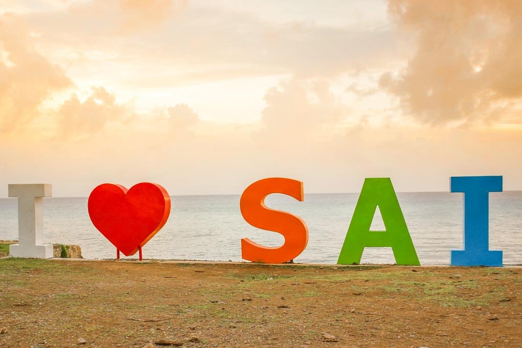 i heart sai sign
