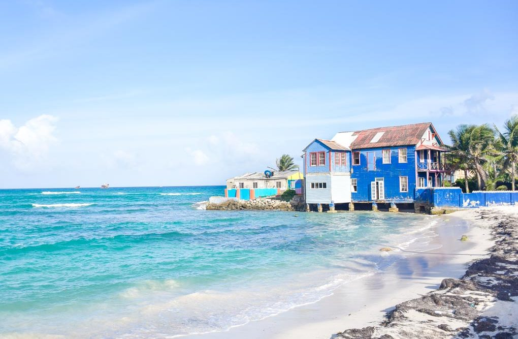 san andres island colombia beach
