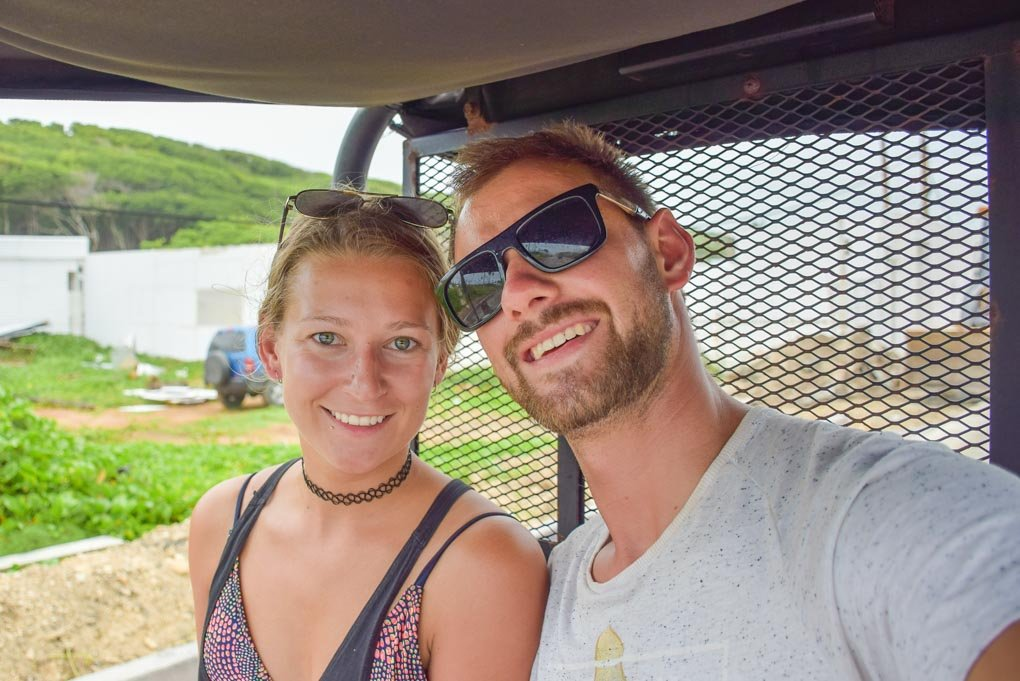 Bailey and Daniel from Destinationless Travel