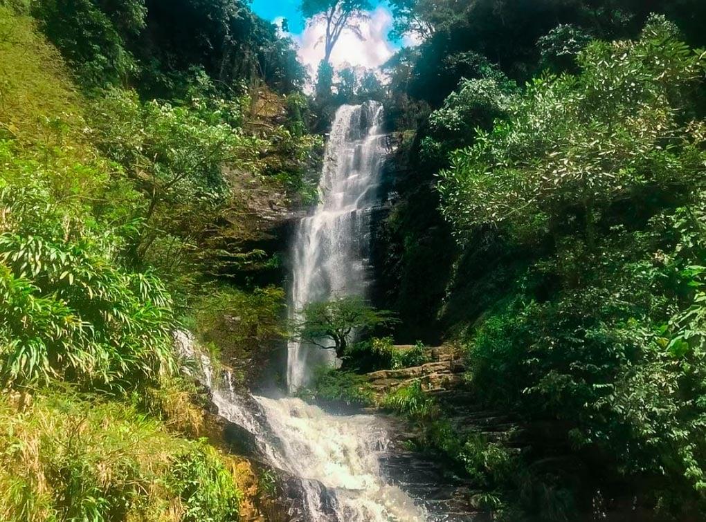 Juan Curi Waterfall, San Gil, Colombia