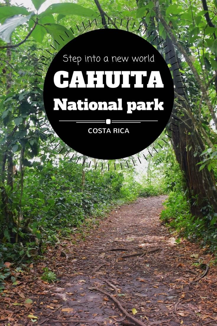 Guide to Cahuita National Park Pinterest