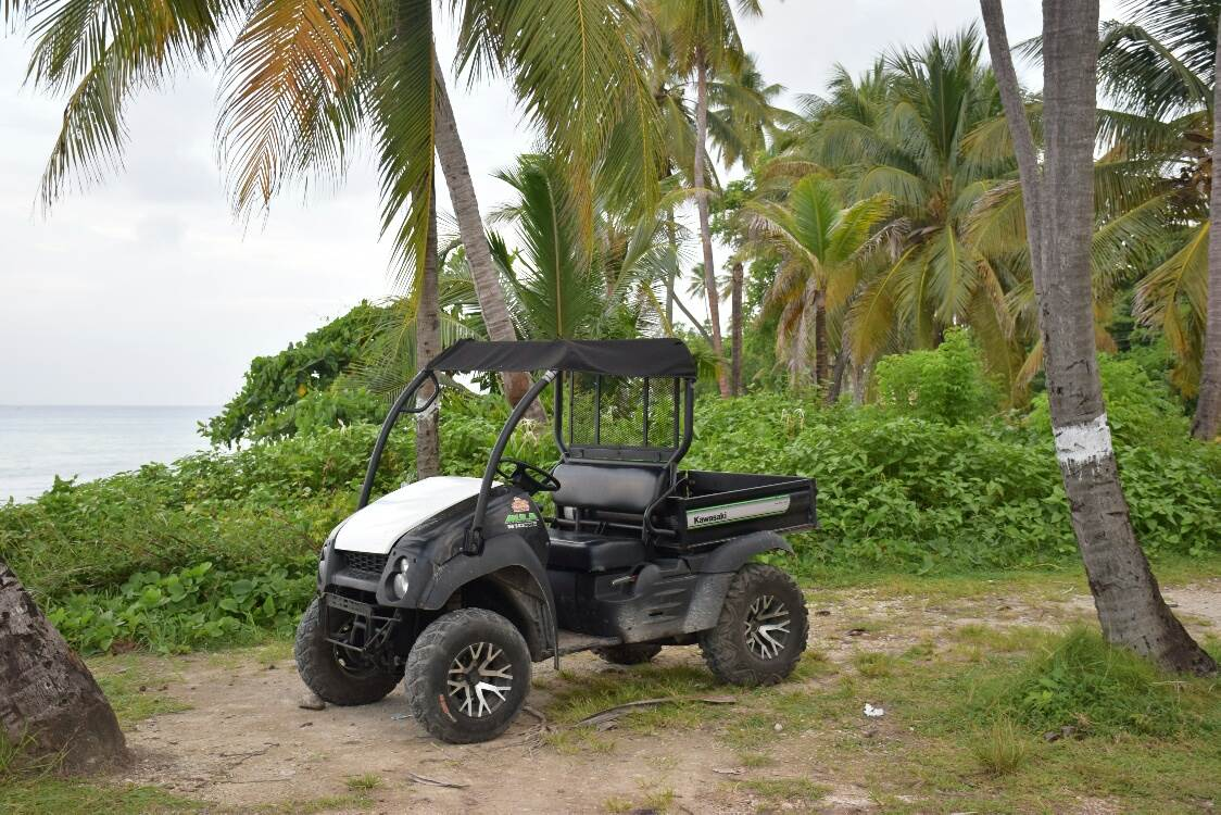 buggy around on San Andres