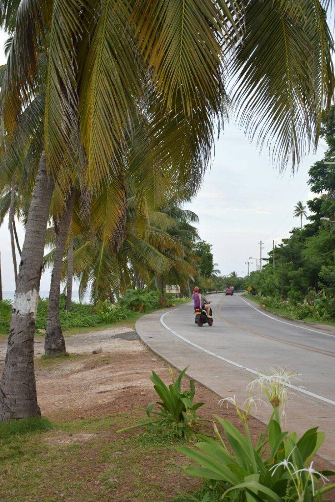 driving around on san andres