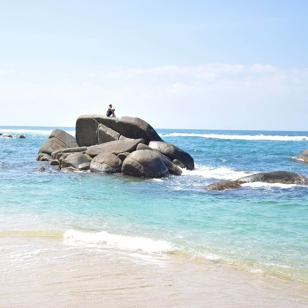 get to tayrona national park and enjoy its beautiful beaches