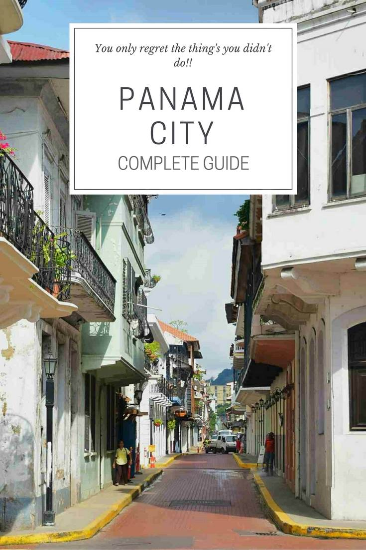 What to do in Panama Pinterest image