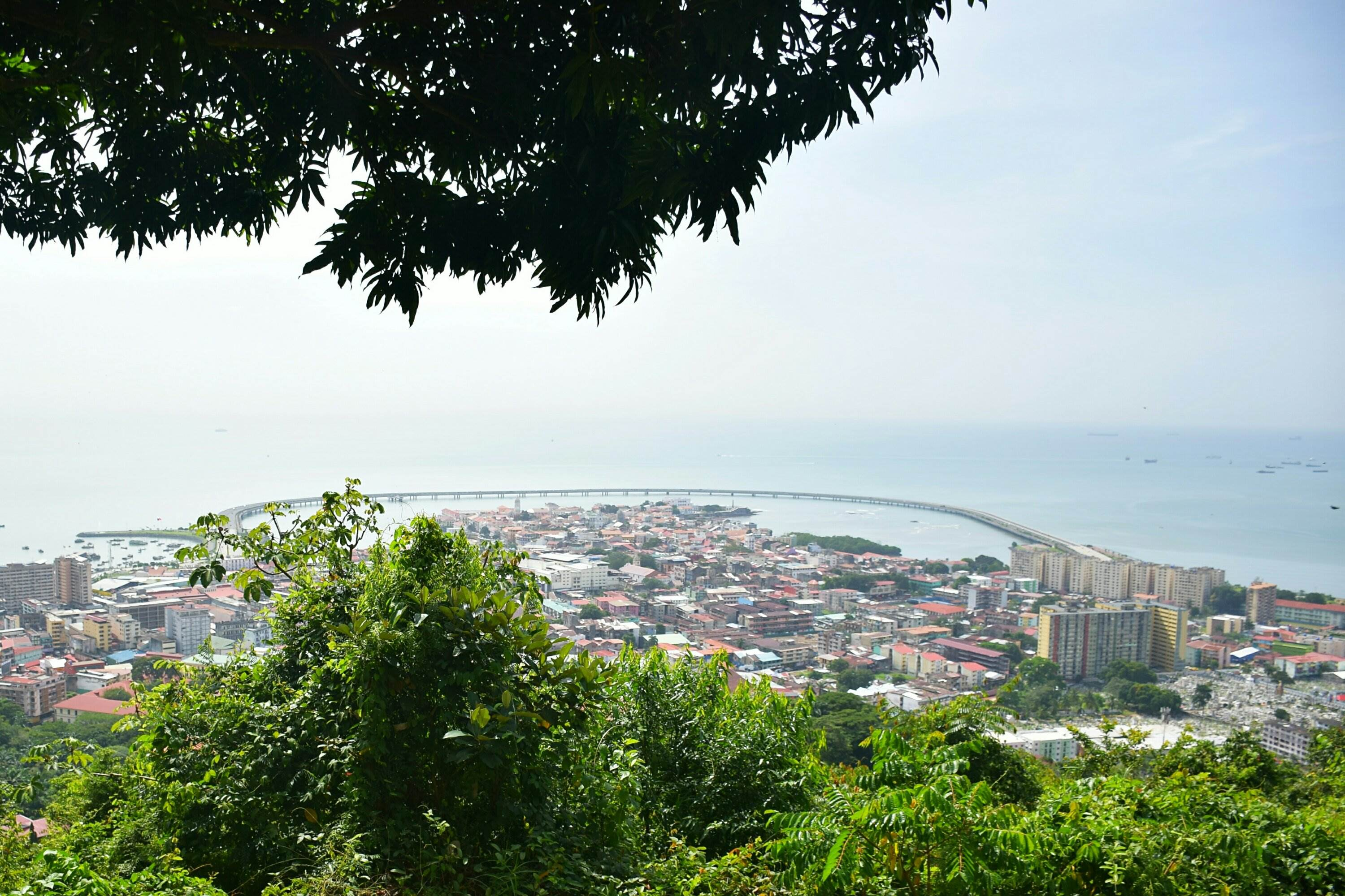 visit Panama City and hike ancon hill