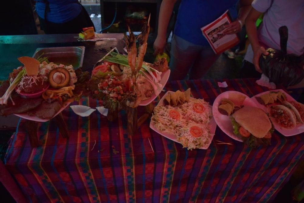 weekend food festival in the ruta de las flores, el salvador