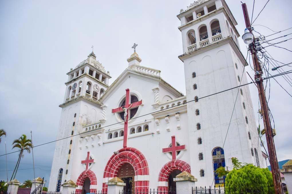 A church in Juayua, El Salvador