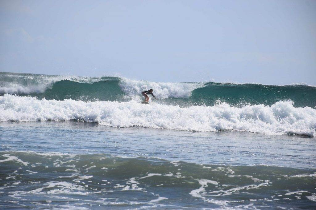 Now that is surfing in San Juan del sur