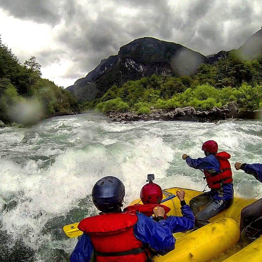 White Water rafting in Futalefu