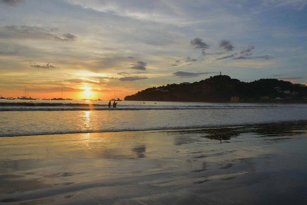 relax at a restaurant on the beach as one of your things to do in San Juan del Sur