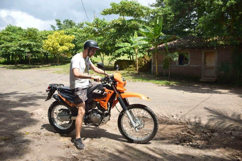 Motorbike rental ometepe