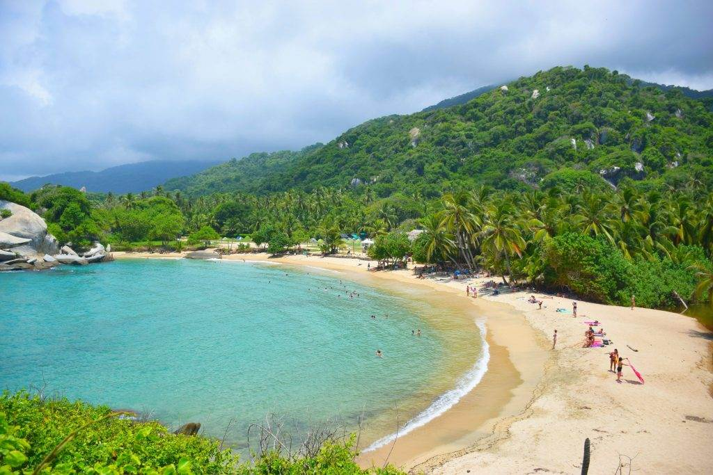 one of the best hikes in south america is tayrona national park