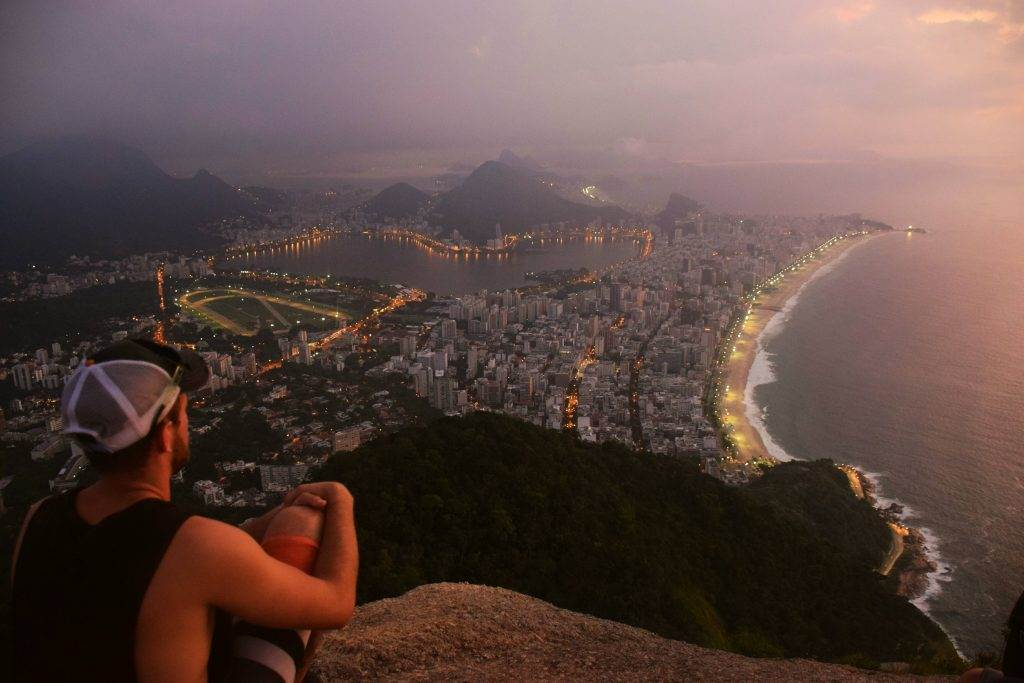 two brothers hike at sunrise, hikes in rio de janerio