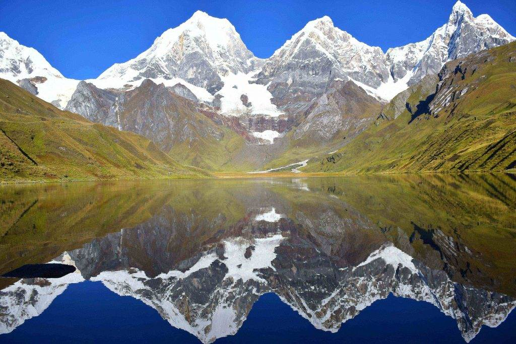 huayhuash circuit in Peru is the best hikes in South america