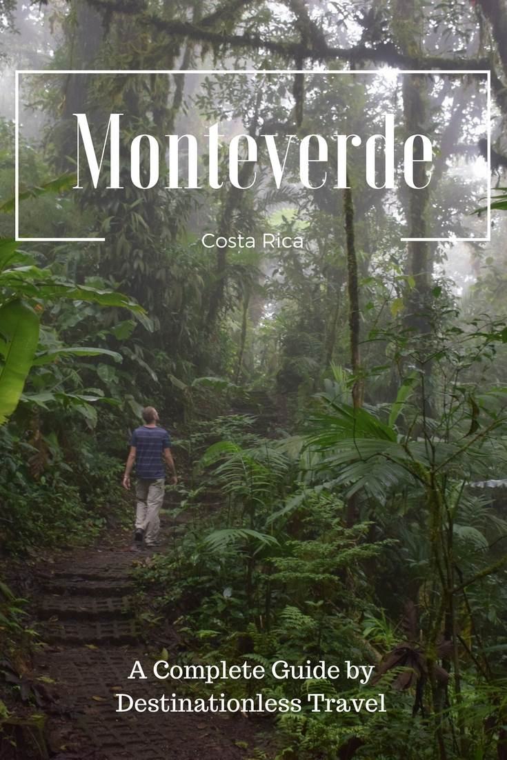 things to do in Monteverde pinterest image