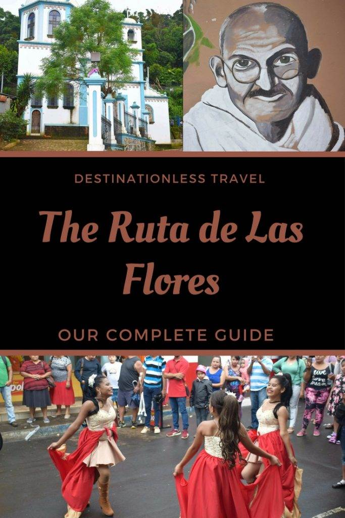 The ruta de las flores pin