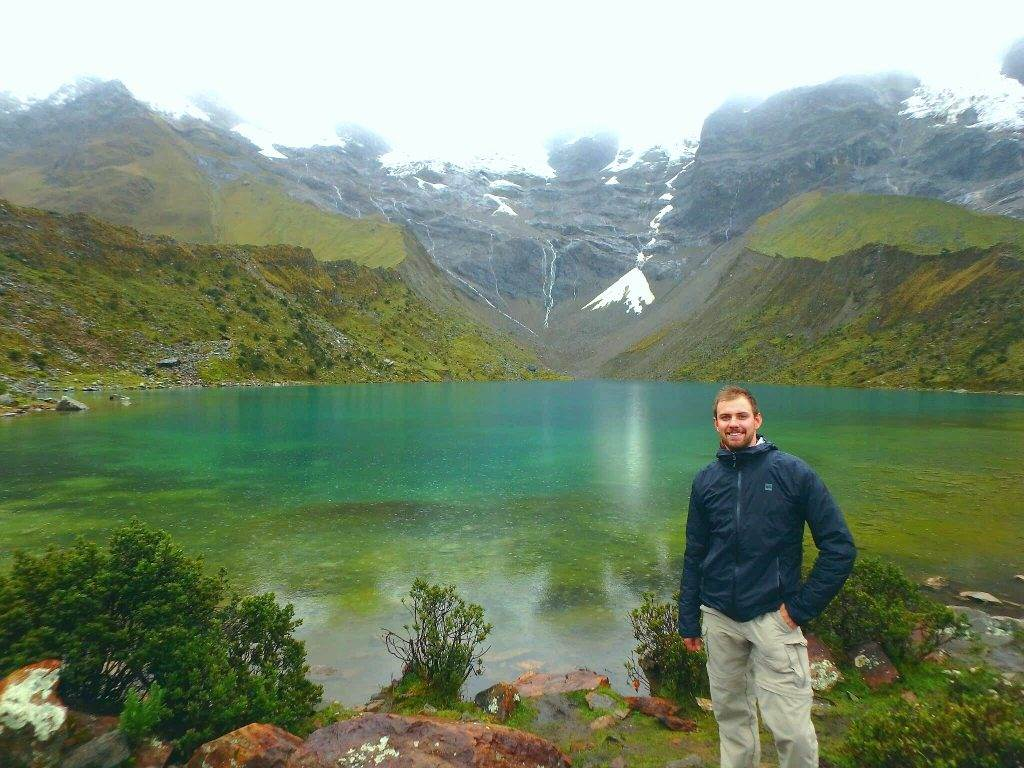 salkantay trek lake