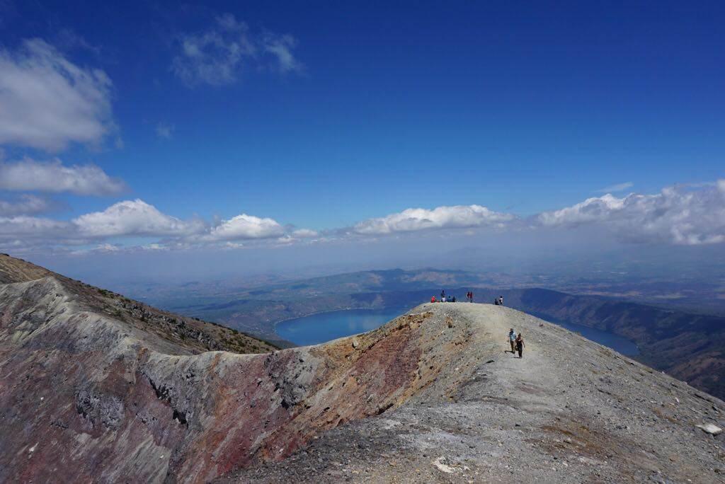 he top of the santa ana volcano hike