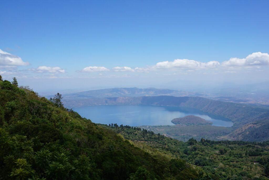 santa ana volcano, el salvador views