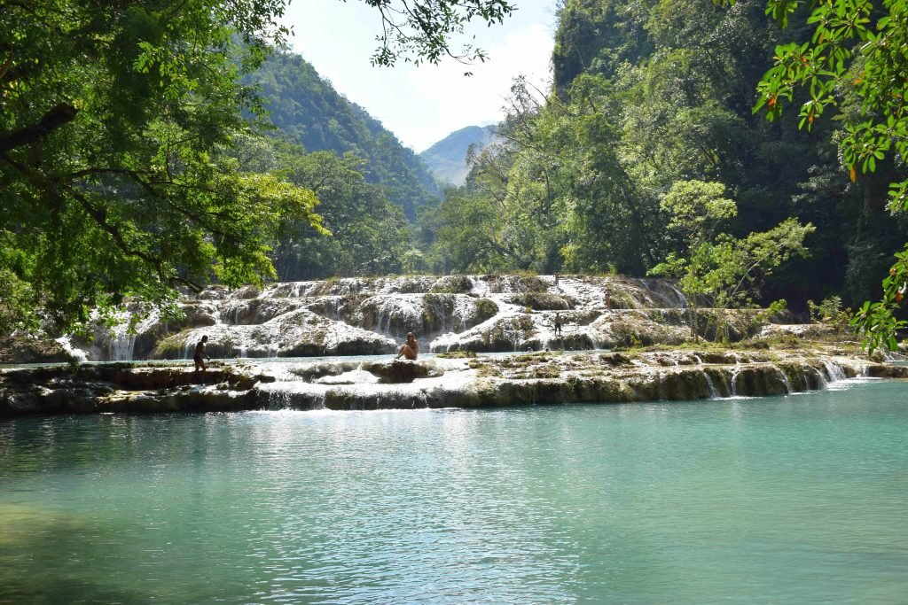 get from lanquin to semuc champey for this view