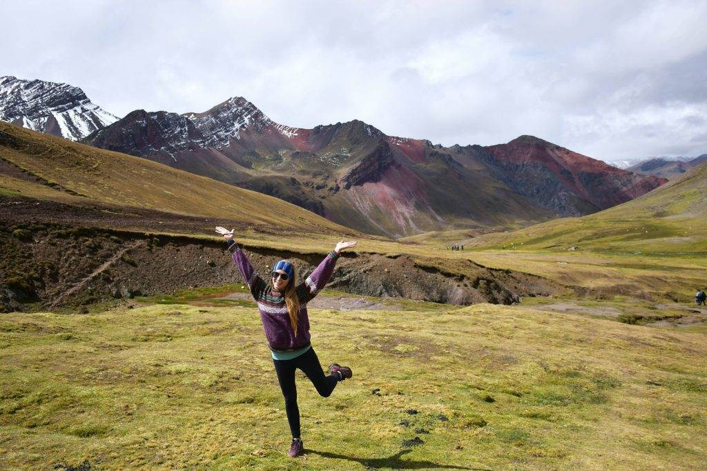 rainbow mountain outside of cusco
