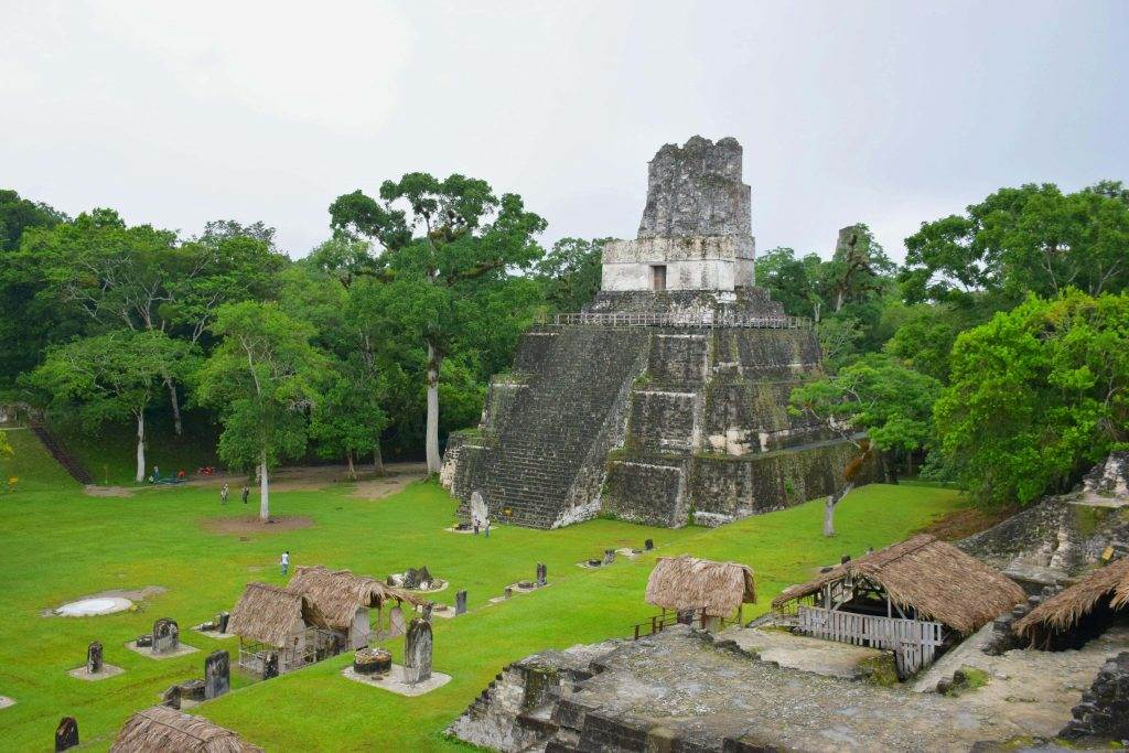 Tikal was the best Mayan ruins because of how quiet it was