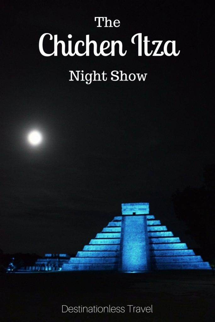Chichen Itza light show pin