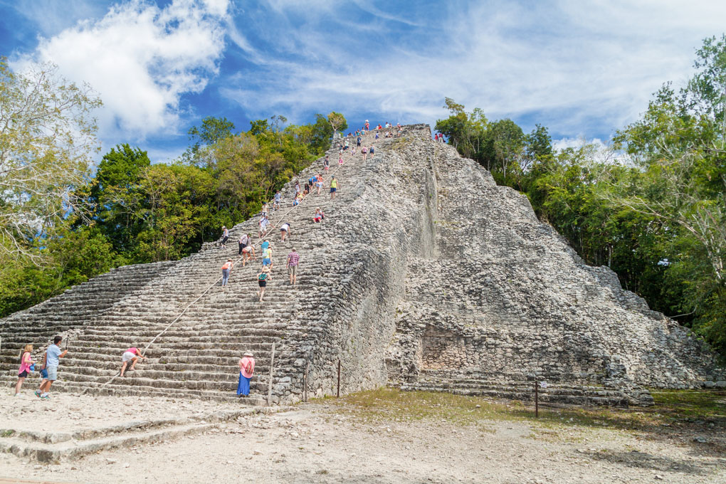 The Coba Ruins in Tulum, Mexico