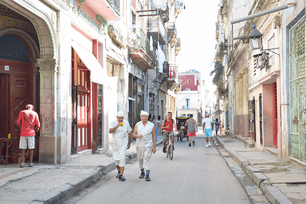 Daily life for the people of Havana