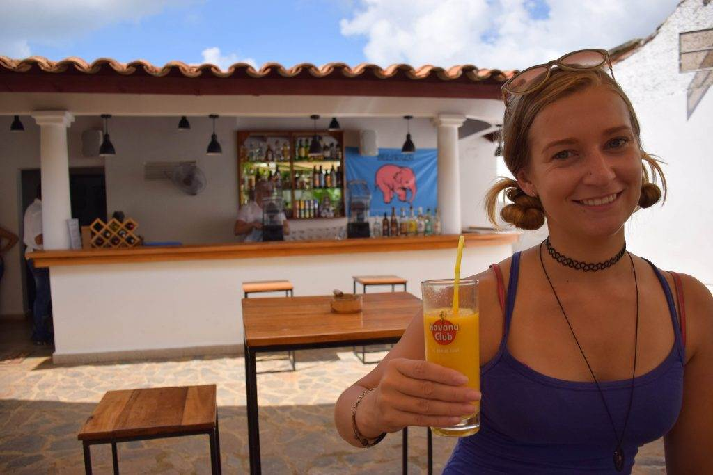 drinking is one of the must do things to do in Vinales, Cuba