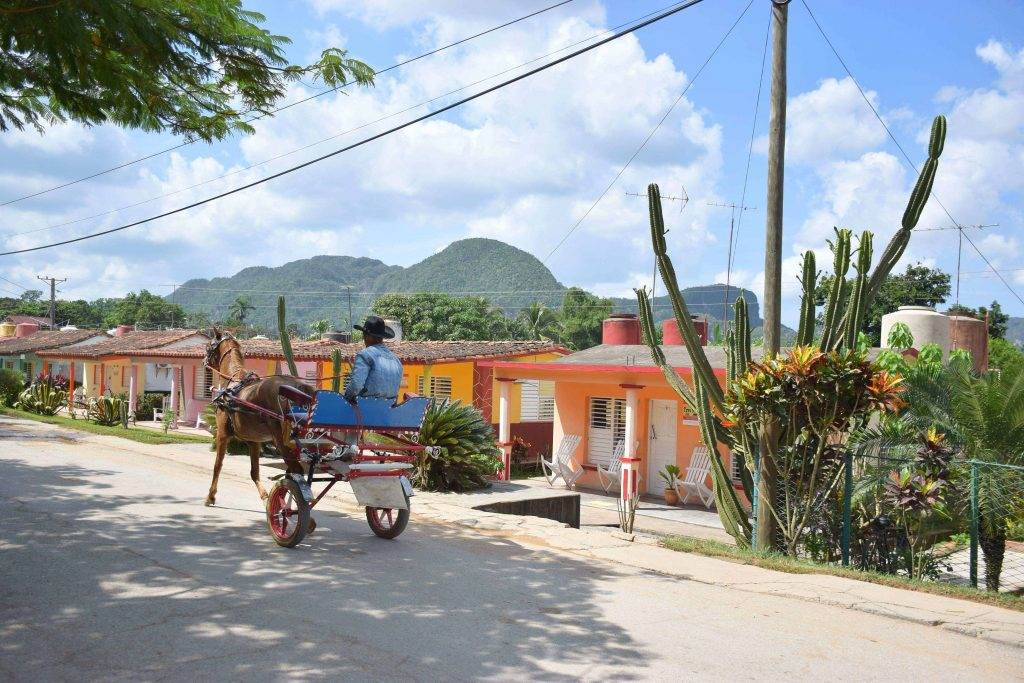 backpacking in Cuba in Vinales